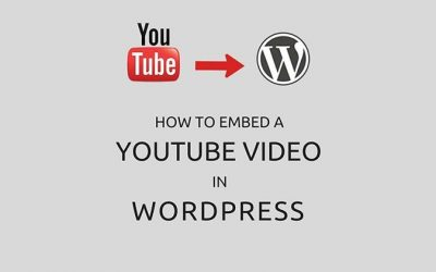 How to Embed a YouTube video in WordPress