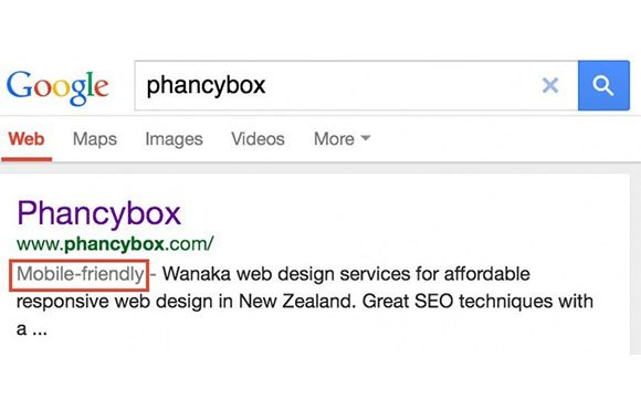 Mobile friendly websites to be ranked higher by Google