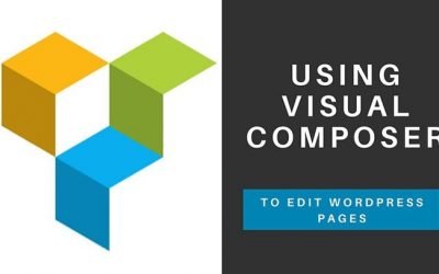 Using Visual Composer to edit WordPress Pages