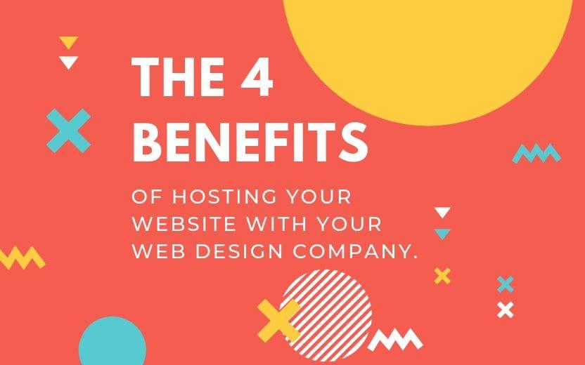 4 benefits hosting website with web design company Phancybox Noosa Brisbane Sunshine Coast